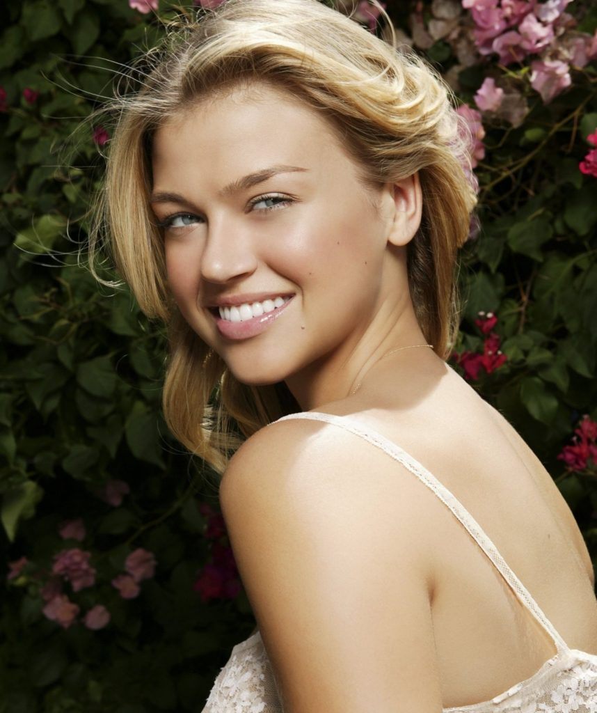 Adrianne Palicki Smile Face Pics