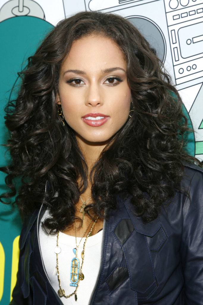 Alicia Keys Smile Face Pictures