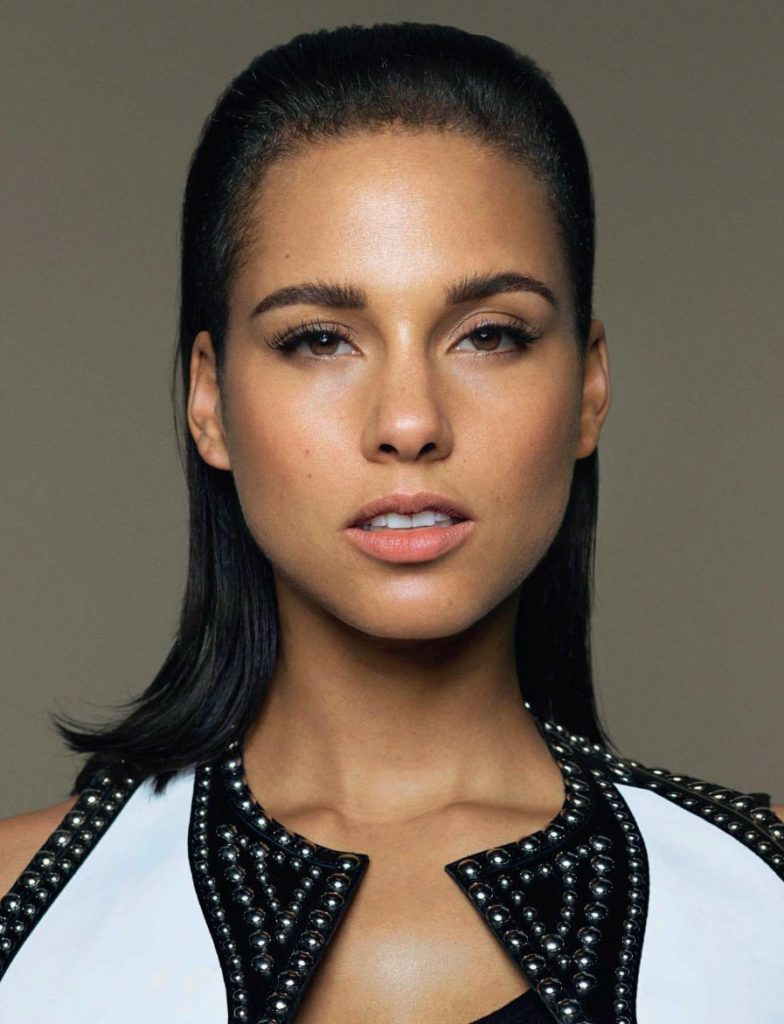 Alicia Keys Without Makeup Pictures
