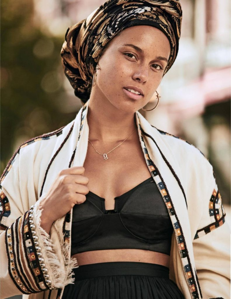 Alicia Keys Working Out Pics