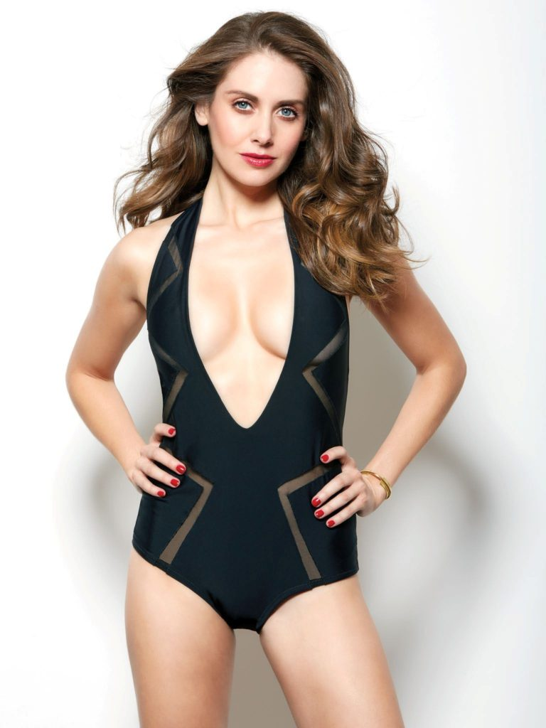 Alison Brie Swimsuit Wallpapers