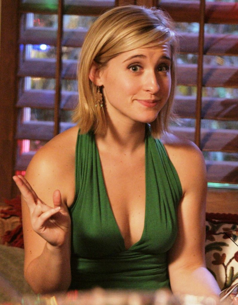 Allison Mack Topless Photos