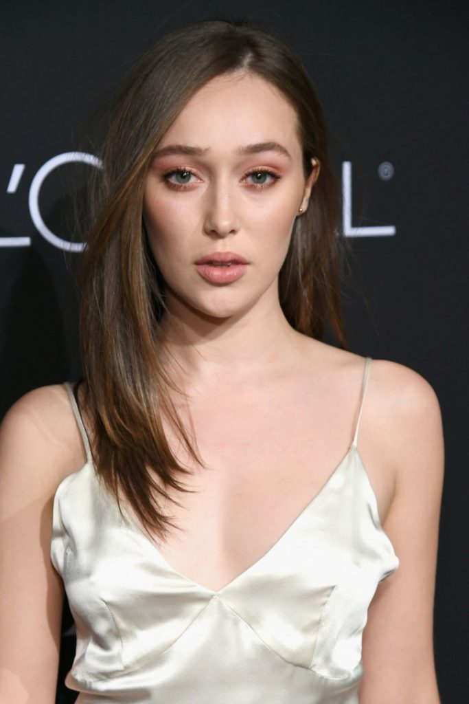 Alycia Debnam-Carey Makeup Wallpapers