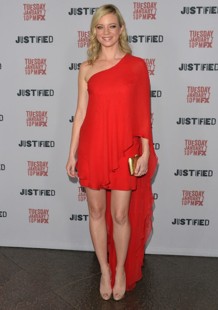 Amy Smart Red Dress Photos