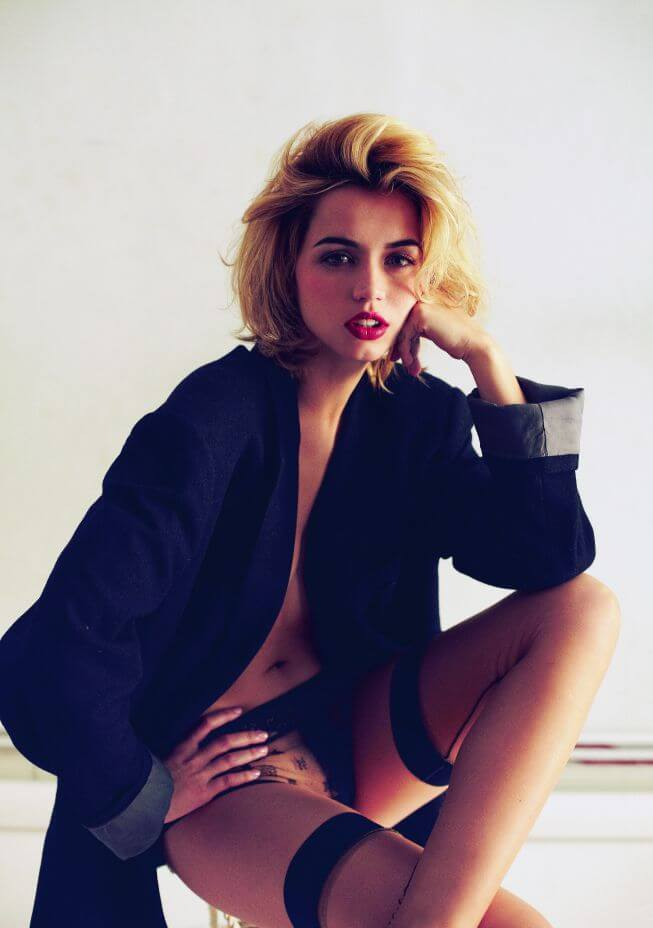 Ana de Armas In Bra Panty Photos