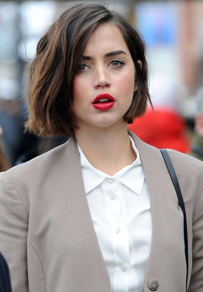 Ana de Armas Short Hair Pictures