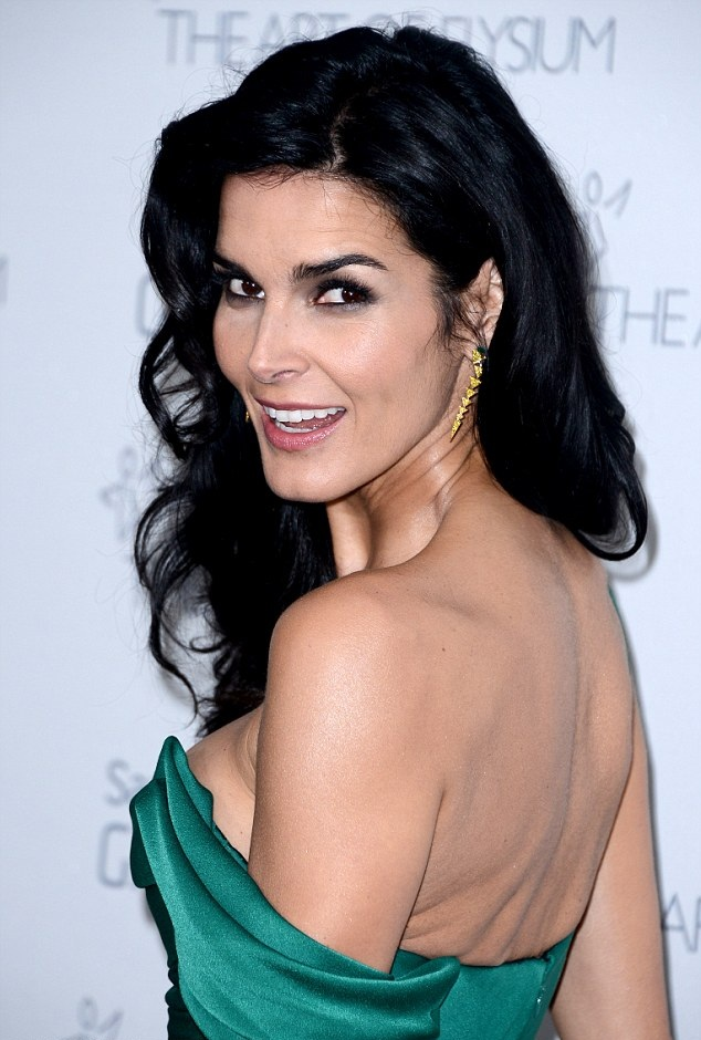 Angie Harmon Backless Images