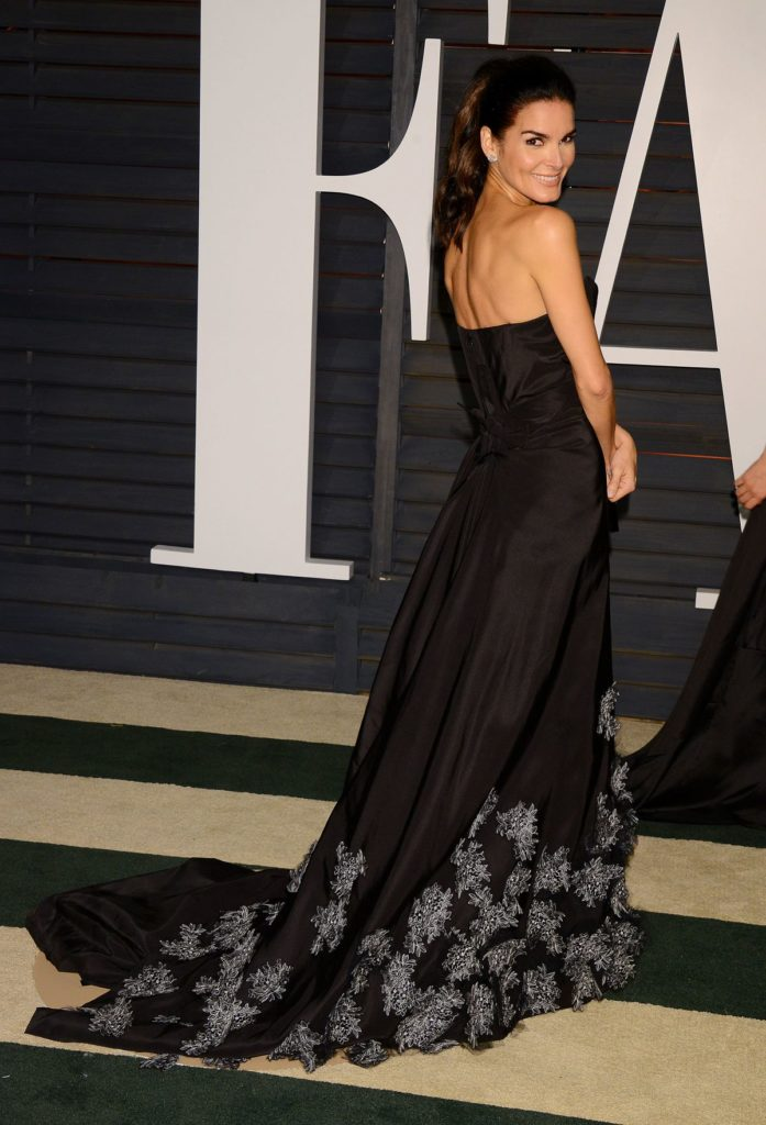 Angie Harmon In Gown Images