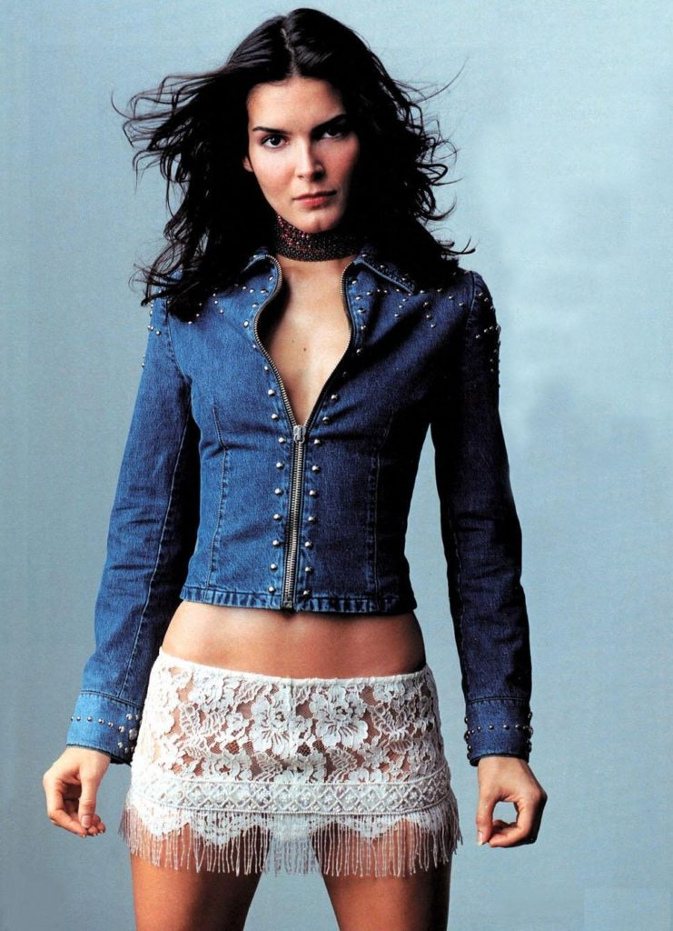 Angie Harmon Near Nude Pictures