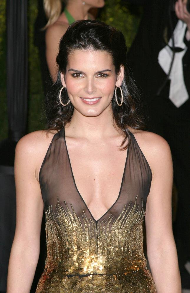 Angie Harmon Without Bra Images
