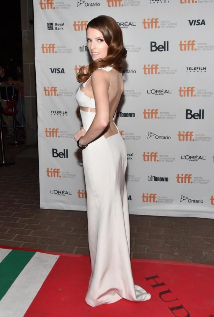 Anna Kendrick Backless Images
