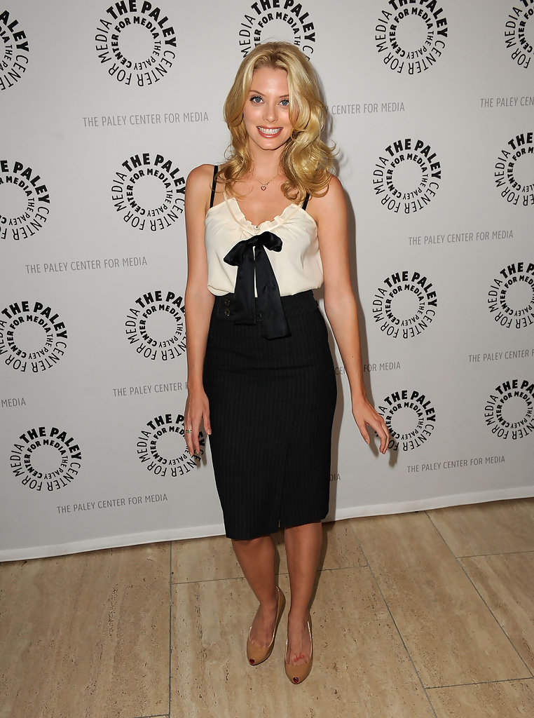April Bowlby High Heels Pictures