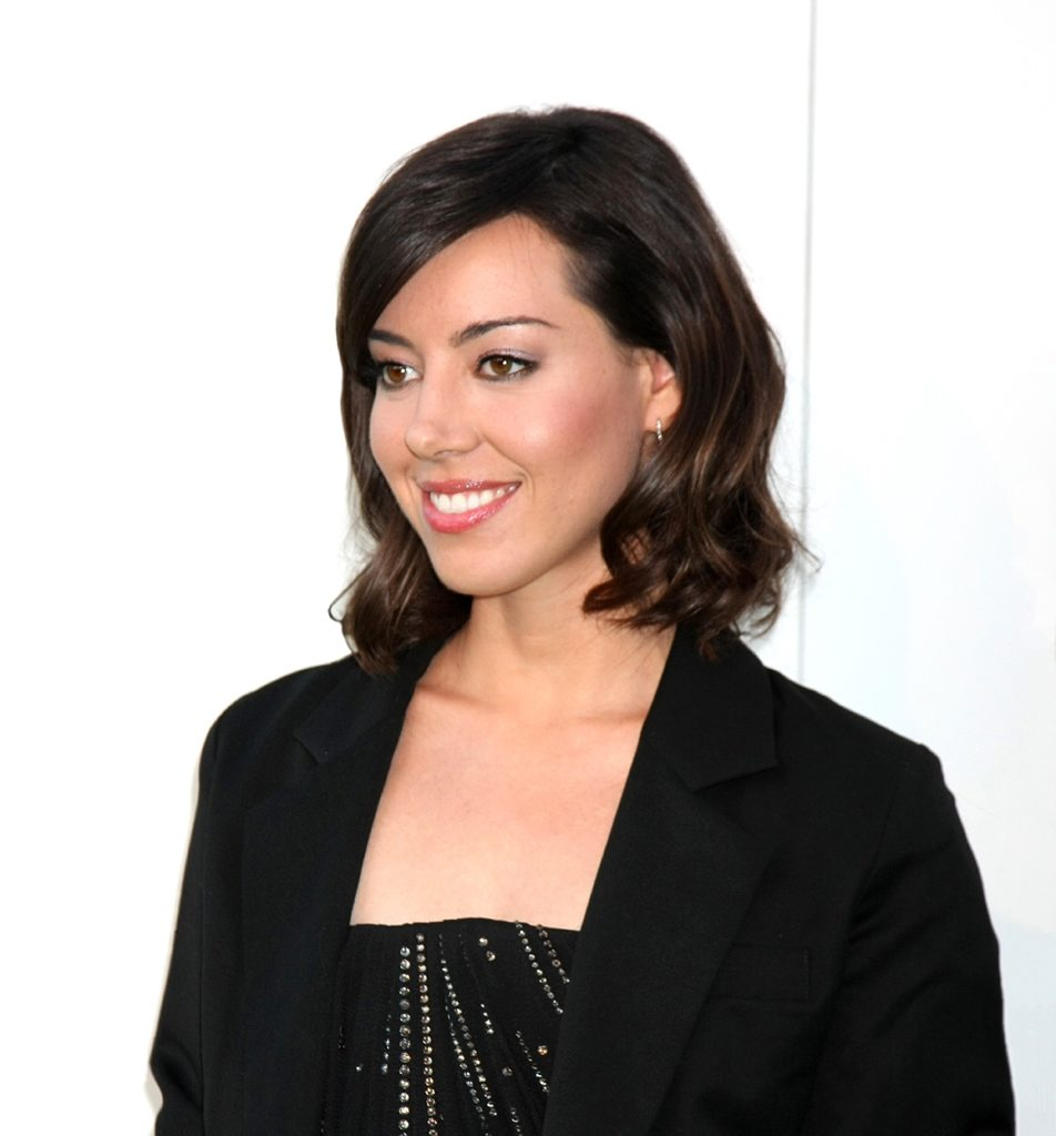Aubrey Plaza Smileing Photos