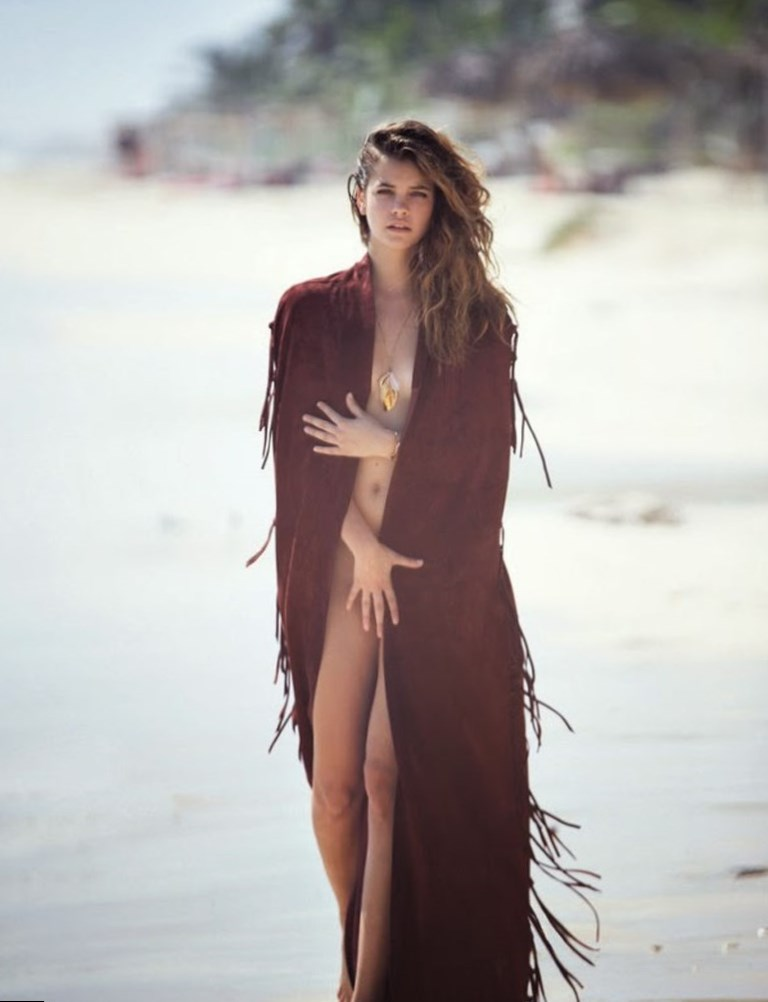 Barbara Palvin Beach Photos