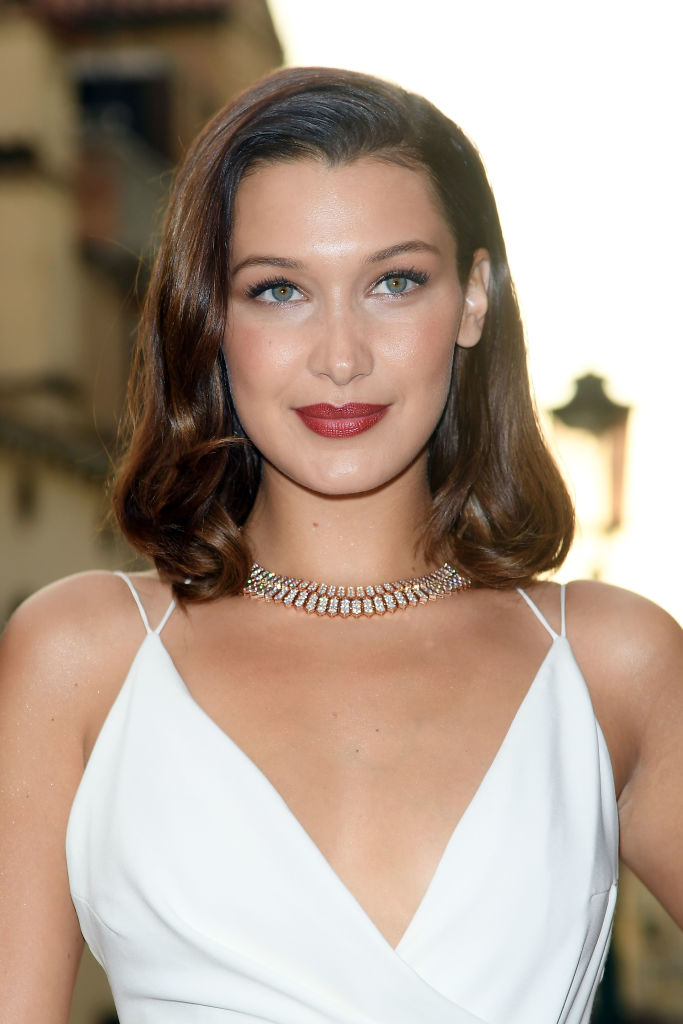 Bella Hadid Makeup Images