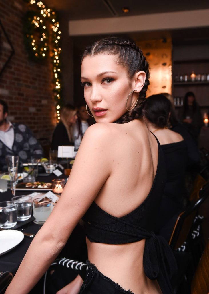 Bella Hadid No Makeup Pics