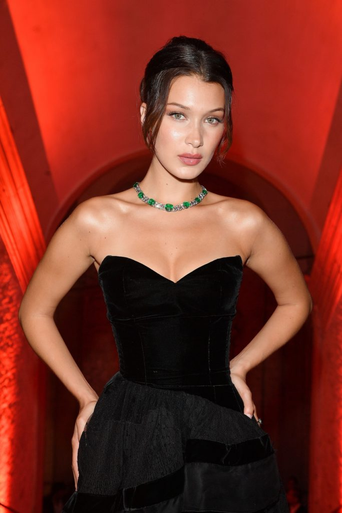 Bella Hadid Oops Moment Photos