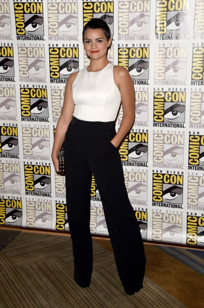 Brianna Hildebrand Workout Images