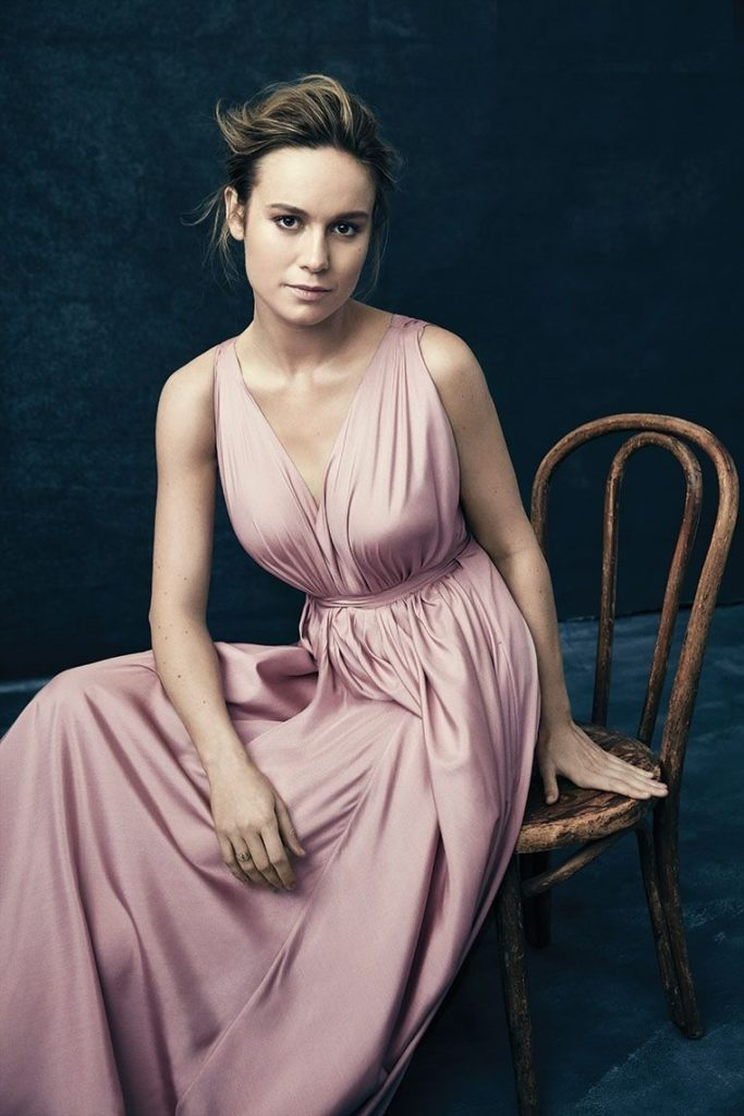 Brie Larson In Gown Pics