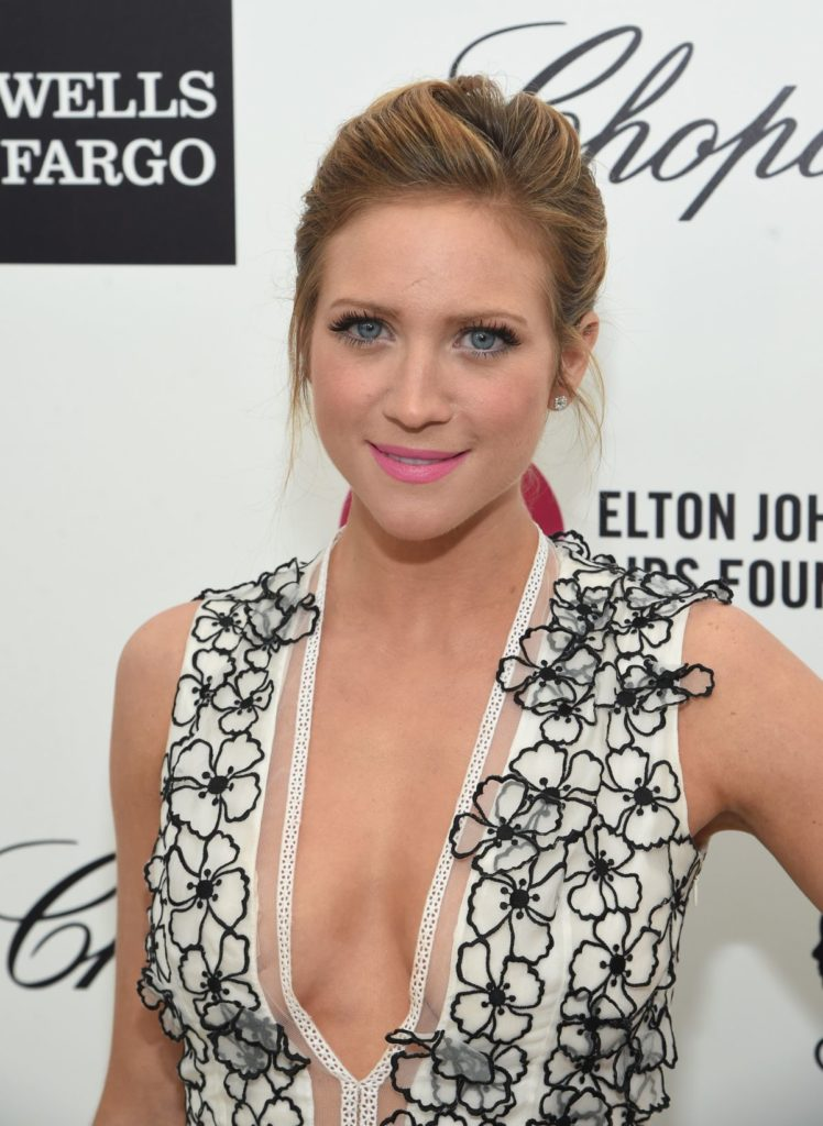 Brittany Snow Smile Face Images