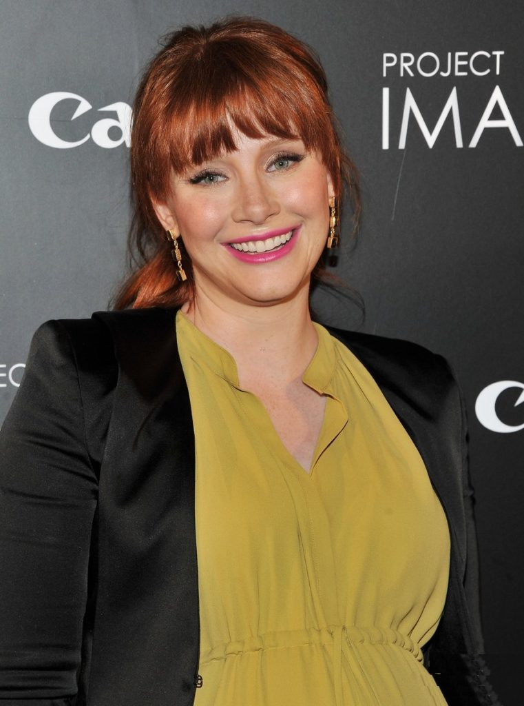 Bryce Dallas Howard Smile Face Wallpapers