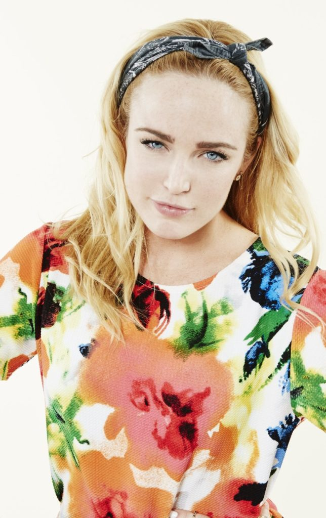 Caity Lotz Cute Wallpapers