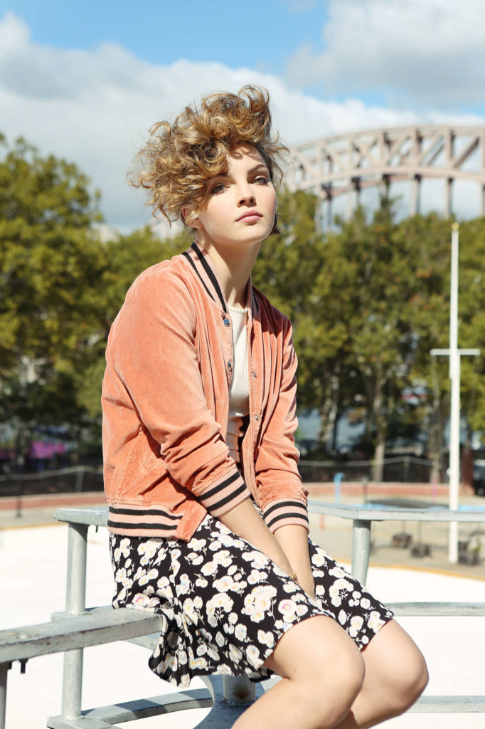 Camren Bicondova Beach Images