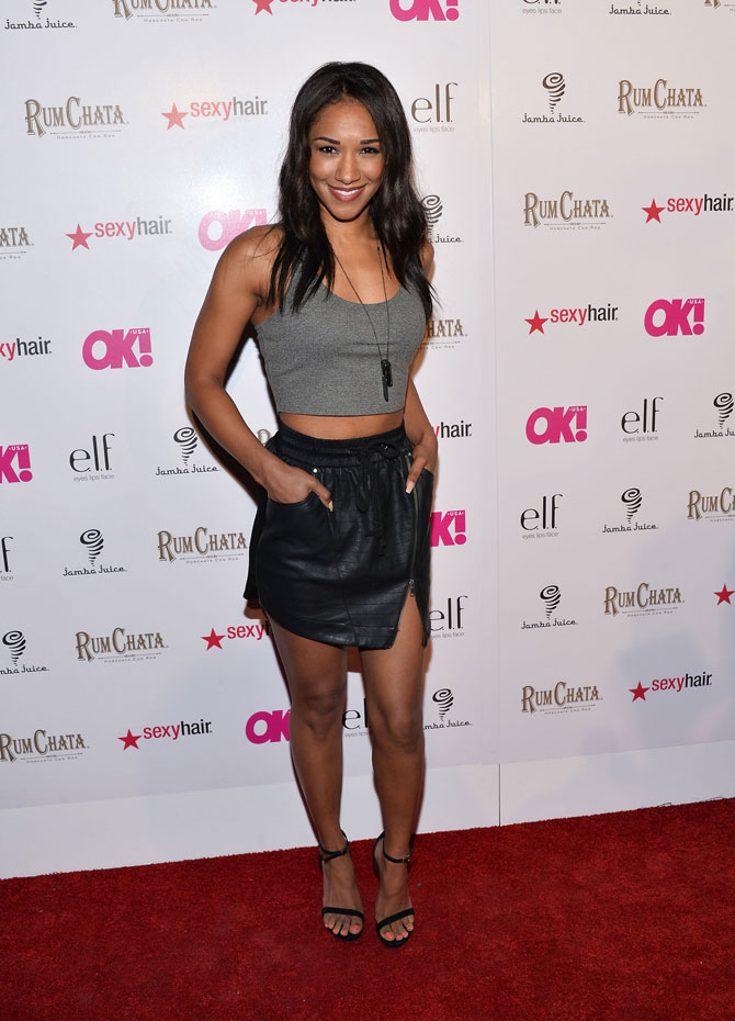 Candice Patton Smile Face Pictures