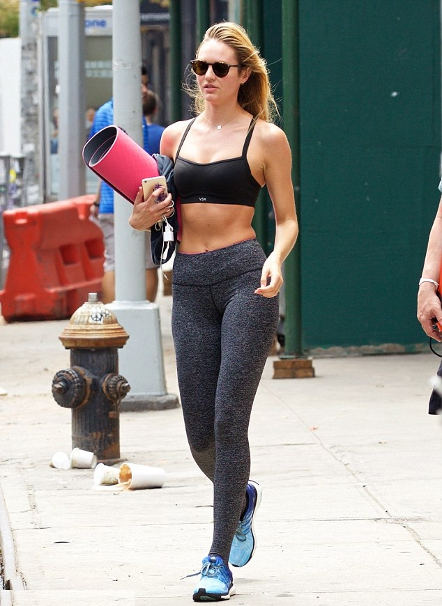 Candice Swanepoel Leggings Images