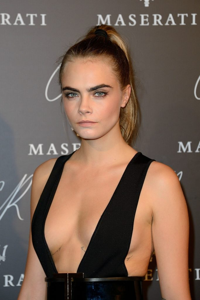 Cara Delevingne Boobs Pictures