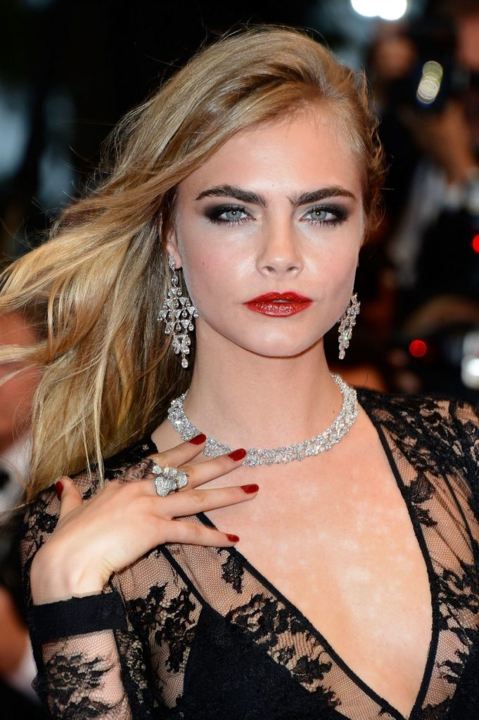 Cara Delevingne Lips Photos