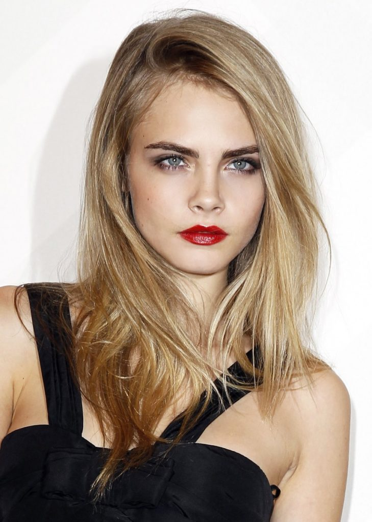 Cara Delevingne Makeup Photos