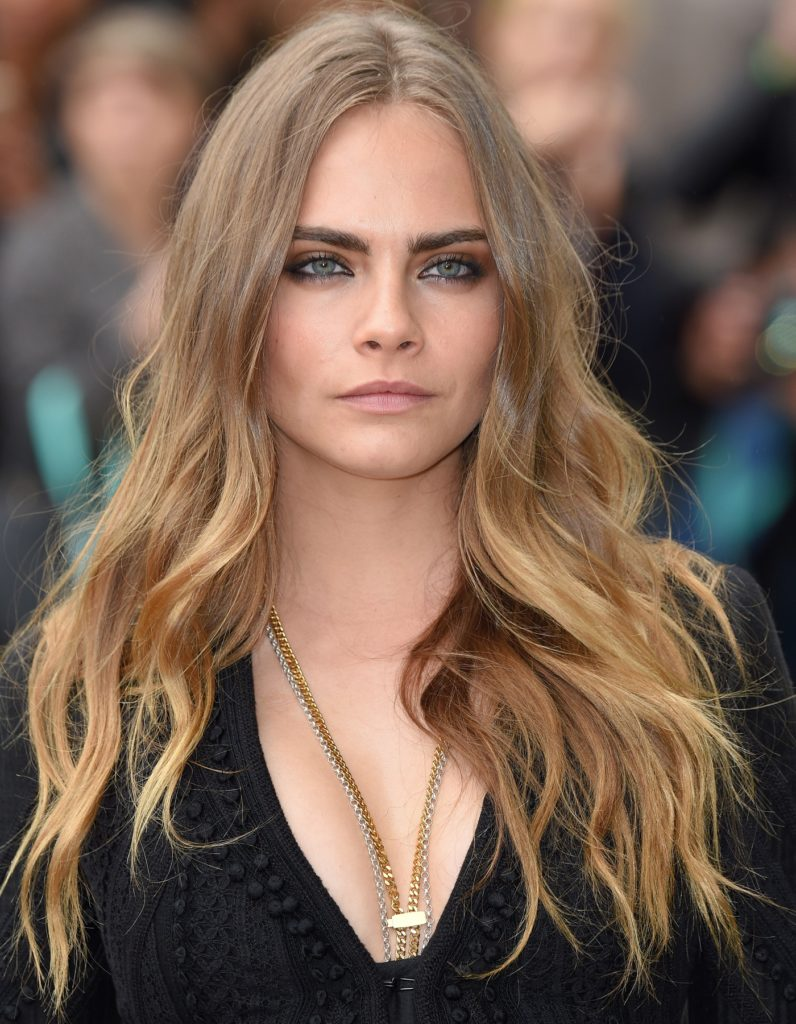 Cara Delevingne Smile Face Pictures