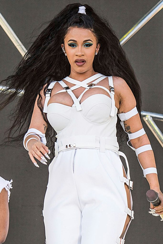 Cardi B Hair Style Pictures
