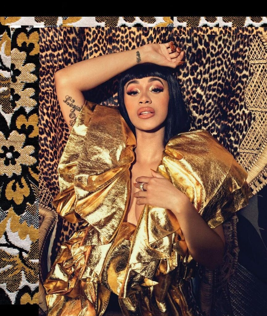 Cardi B Workout Pictures