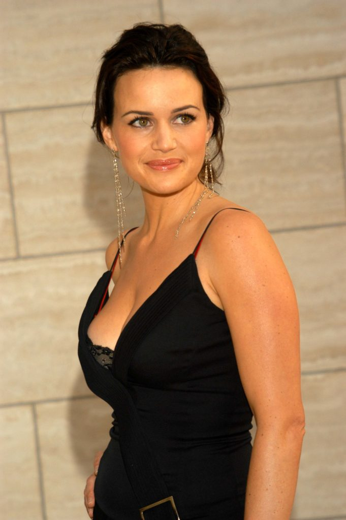 Carla Gugino Working Out Images