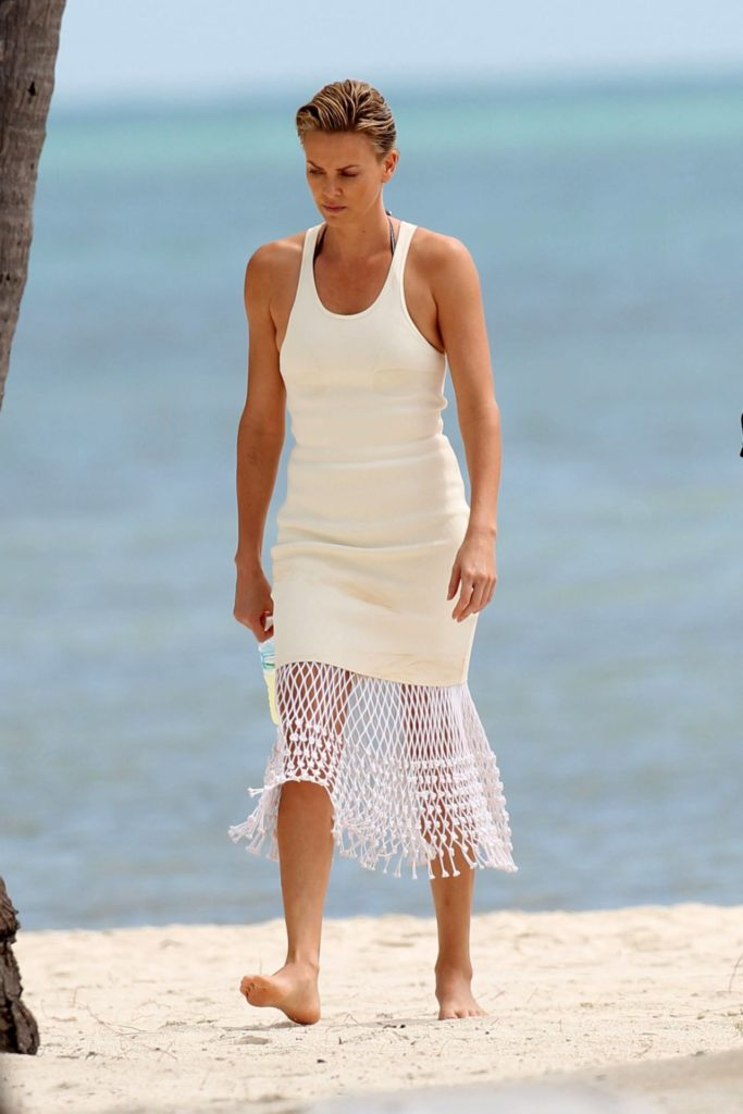 Charlize Theron Swimsuit Photos