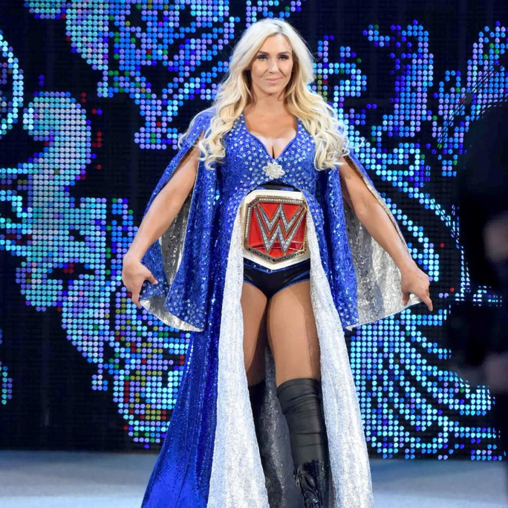 Charlotte Flair Shorts Images