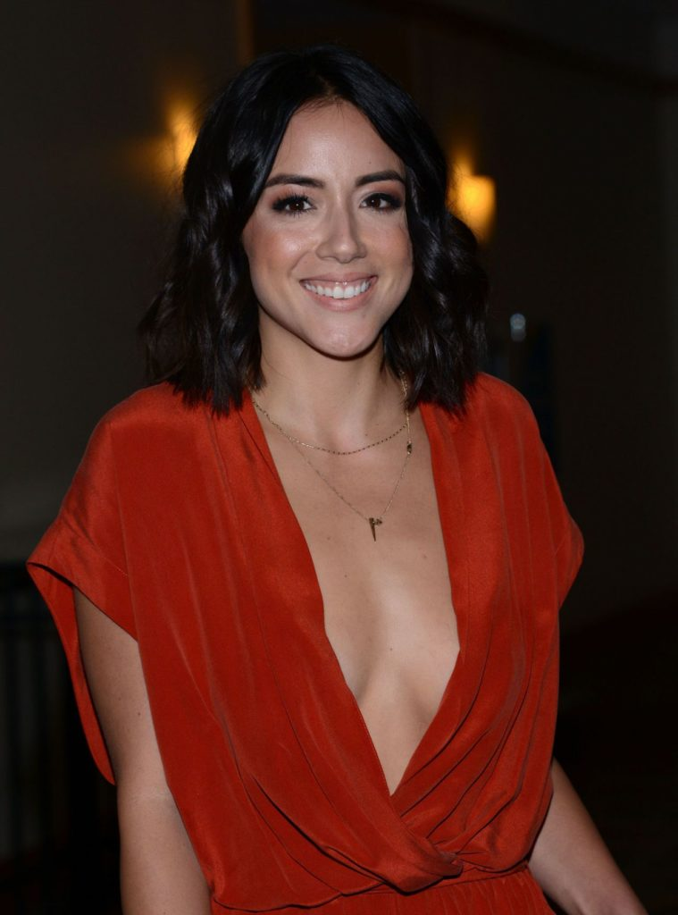 Chloe Bennet Topless Images