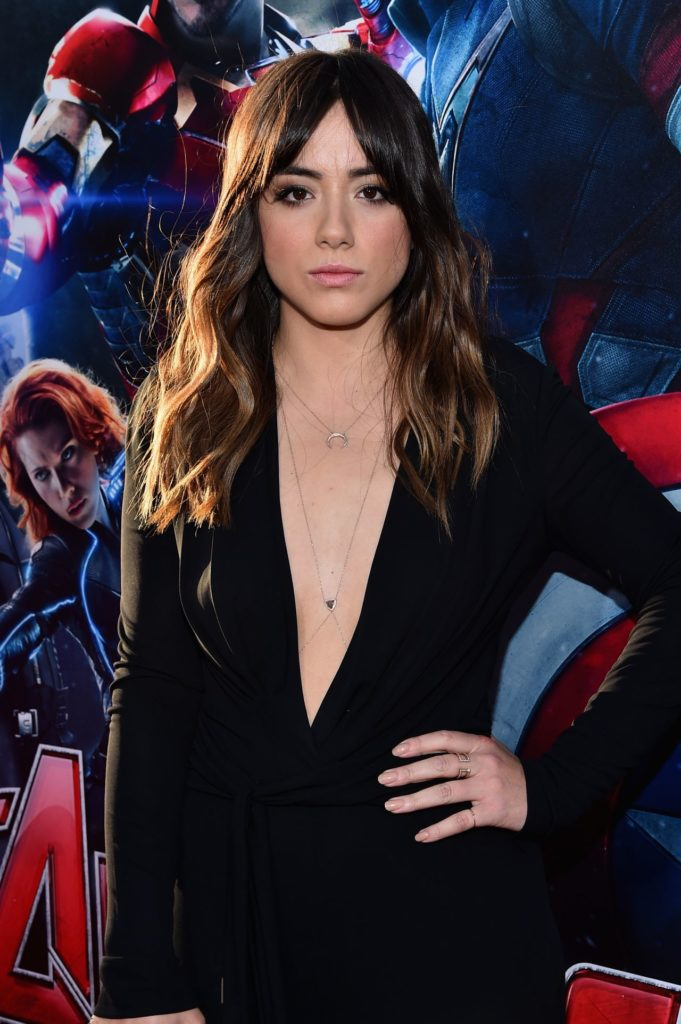 Chloe Bennet Working Out Pics