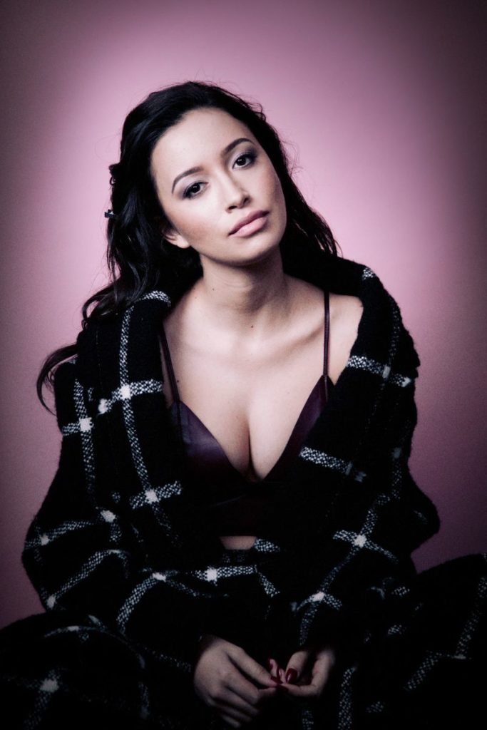 Christian Serratos Bra Panty Images