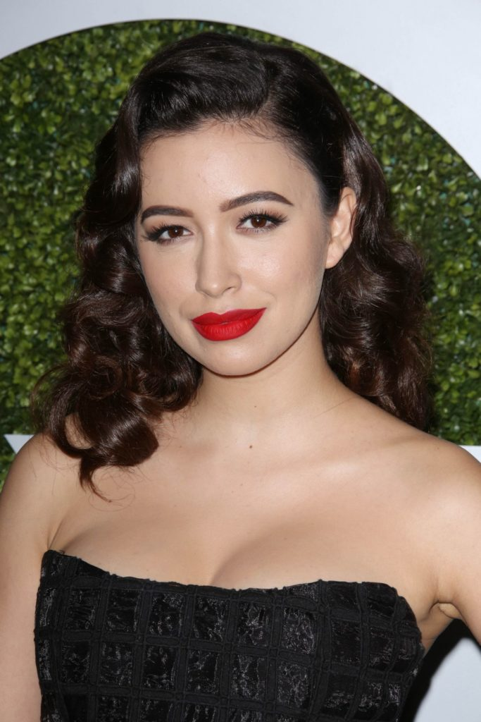 Christian Serratos Bra Photos