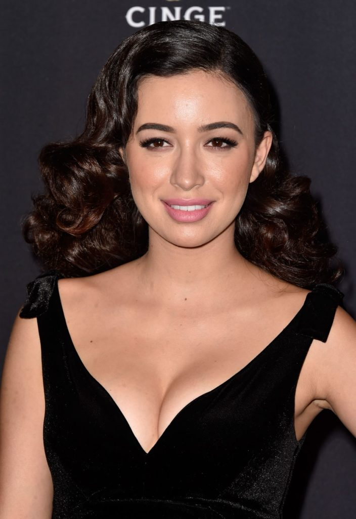 Christian Serratos Braless Photos