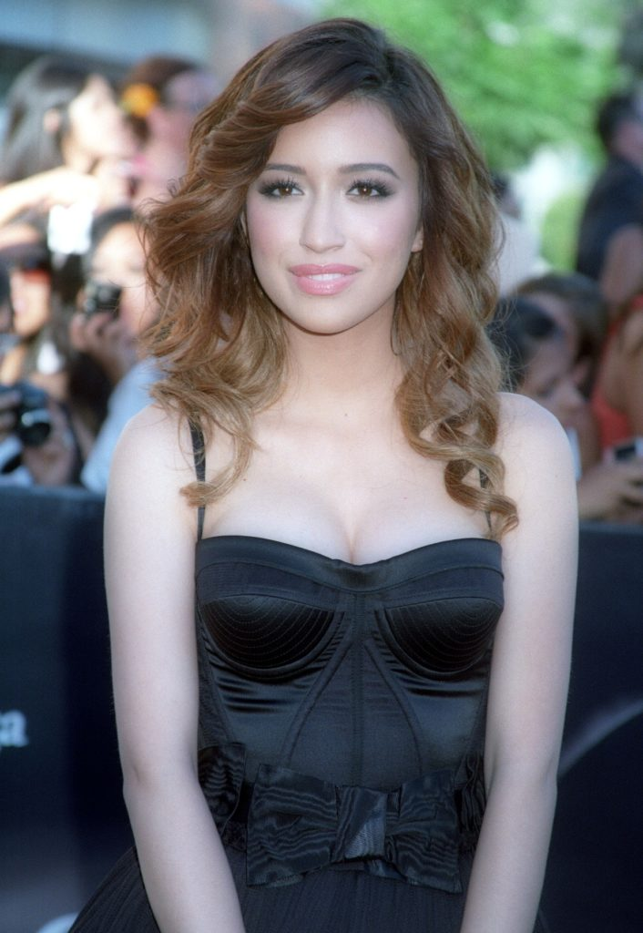 Christian Serratos Haircut Pics