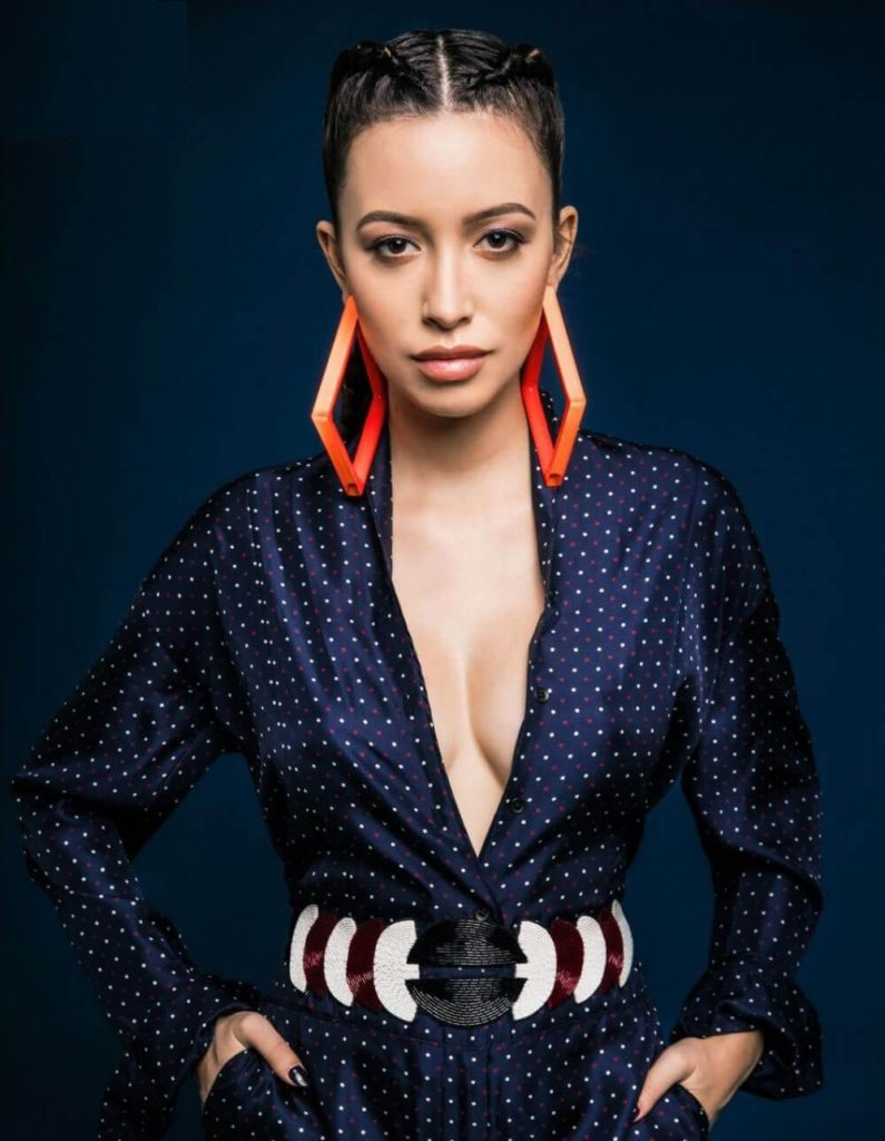 Christian Serratos Oops Moment Pictures