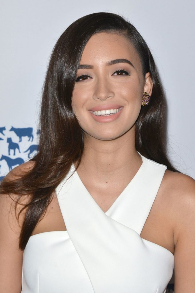 Christian Serratos Smileing Images
