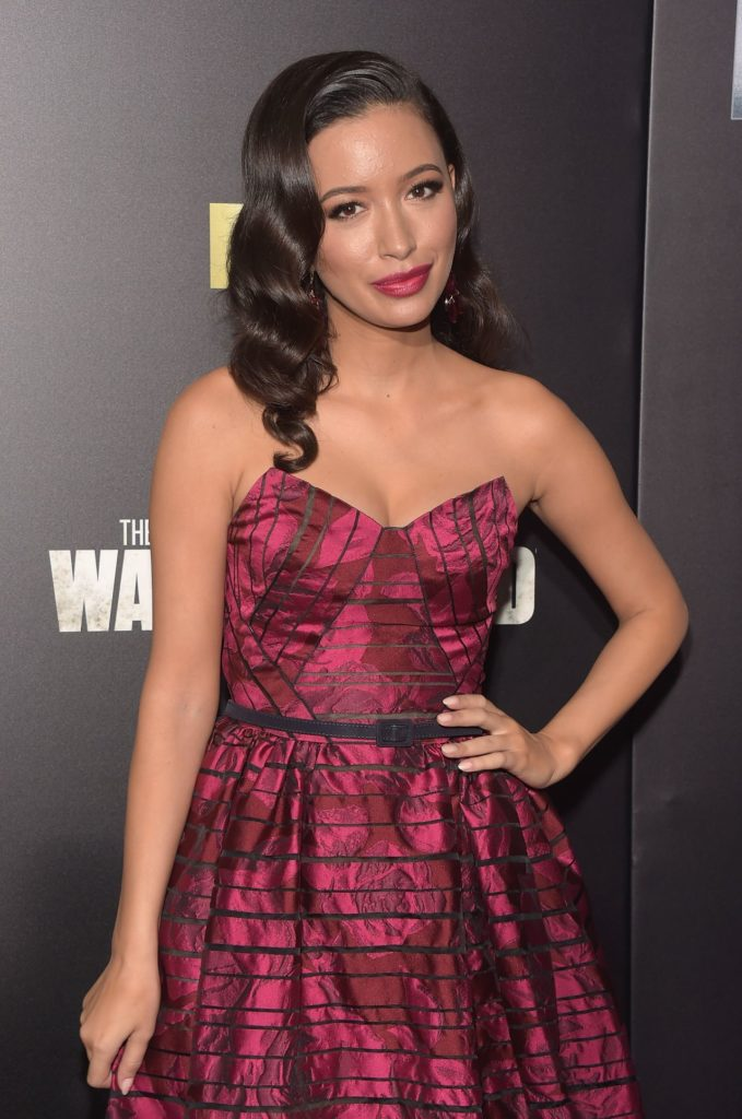 Christian Serratos Thighs Images
