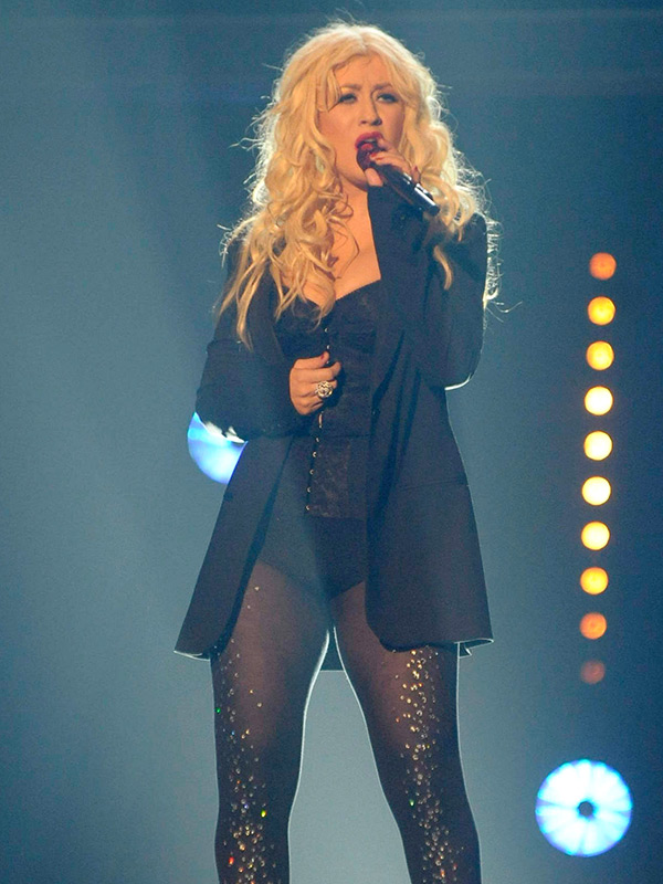 Christina Aguilera Thighs Images
