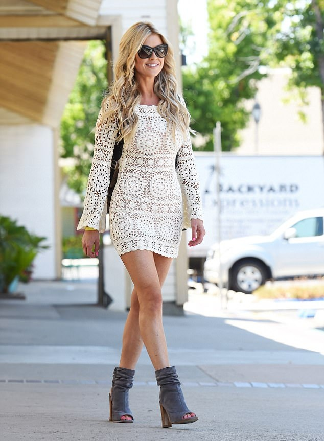 Christina Anstead Undergarments Pictures