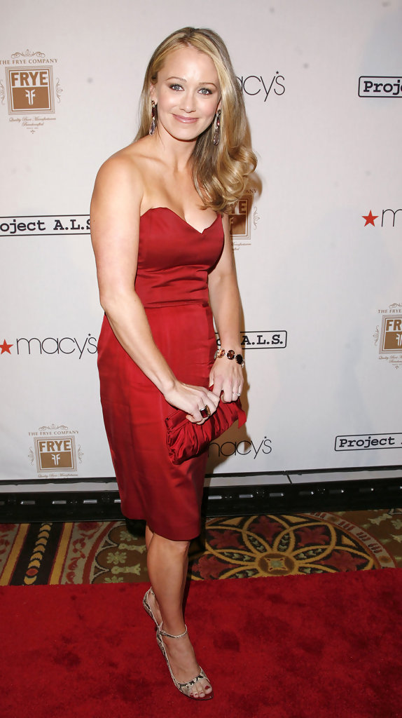 Christine Taylor Thighs Wallpapers